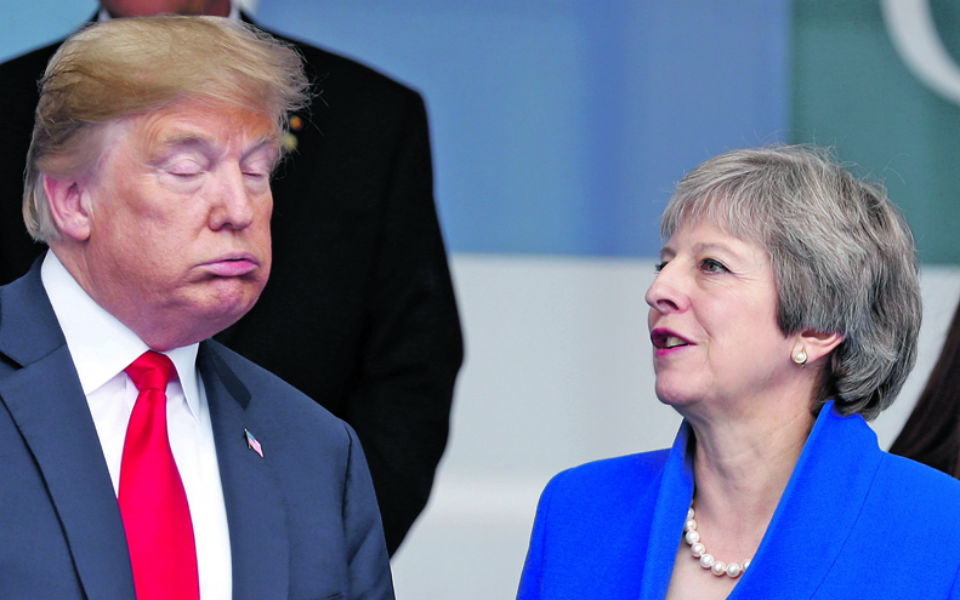 Trump no Reino Unido: a última oportunidade para Theresa May