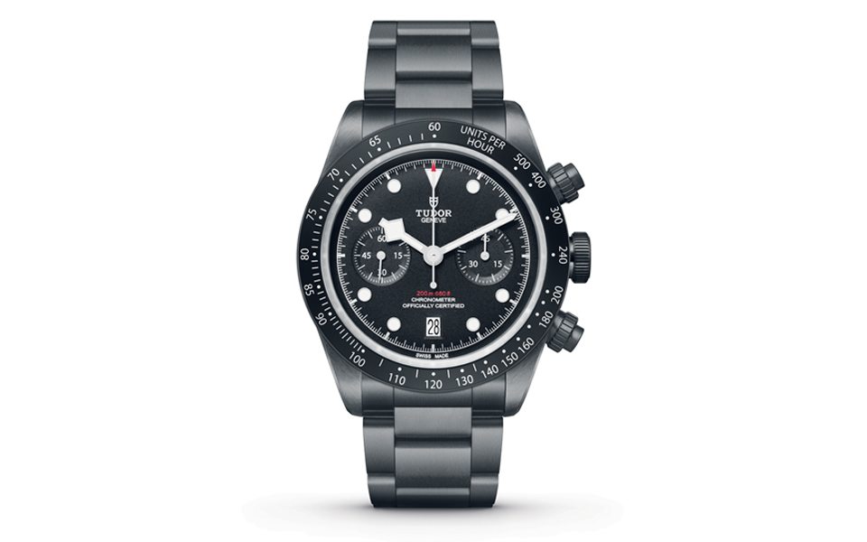 Tudor Black Bay Chrono - Homenagem aos All Blacks