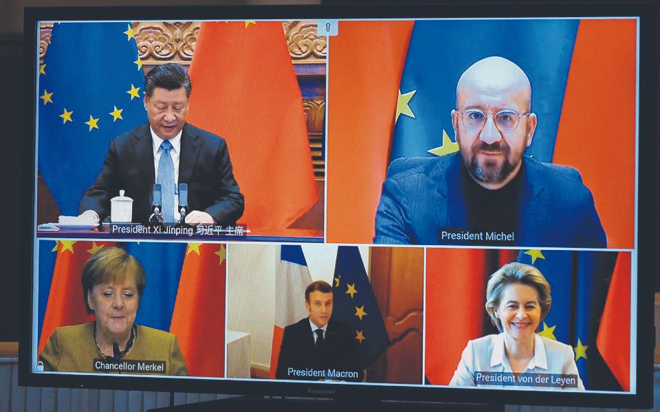 ACORDO UE-CHINA: Investidores europeus querem portas abertas