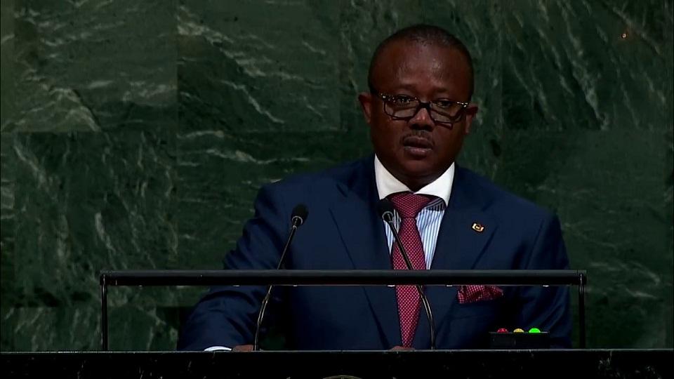Embaló ganha tarefa presidencial de unir a Guiné-Bissau