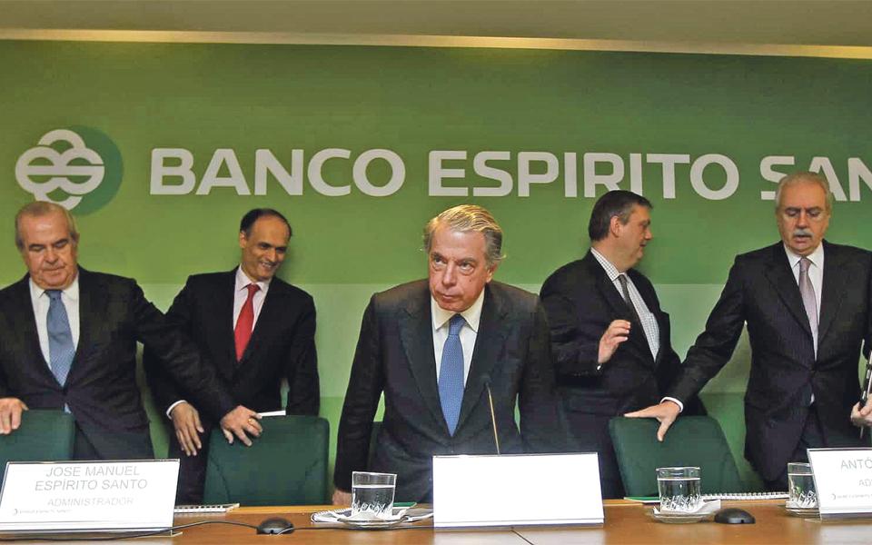 Deco perde ação  judicial contra  ex-gestores do BES