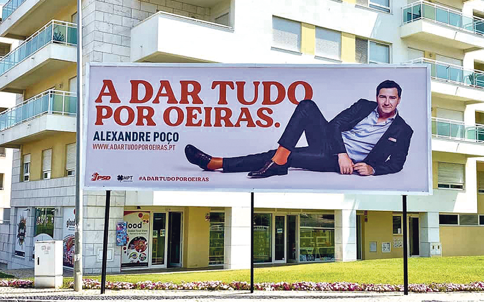Alexandre Poço capta a atenção na 'Missão Impossível' de Oeiras