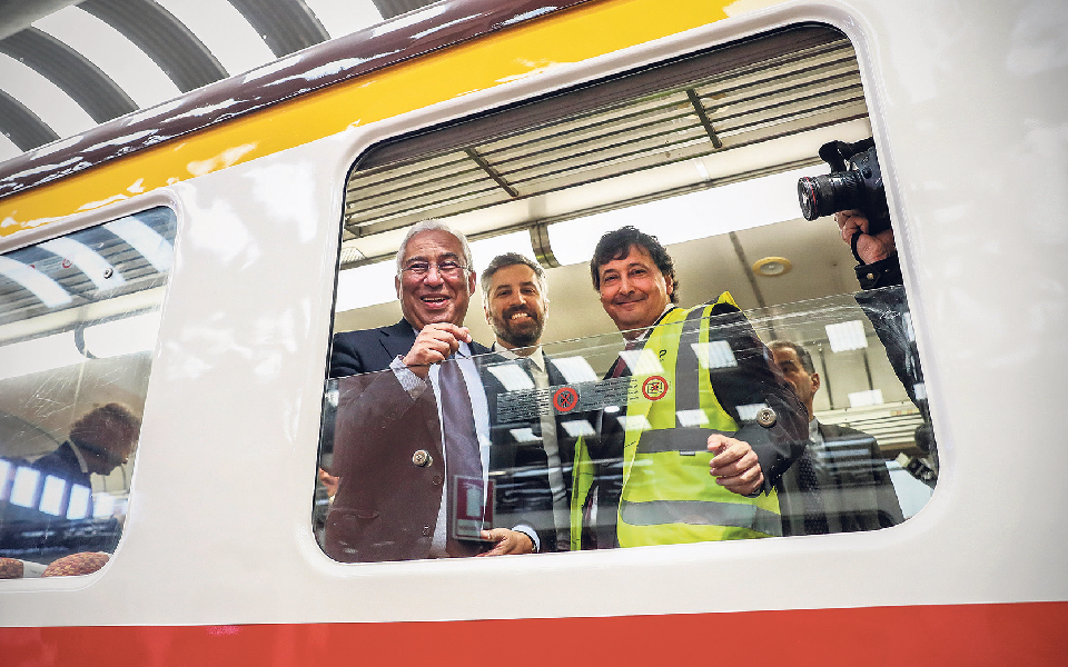 Linha de alta velocidade entre Lisboa e Porto é o destaque na aposta no setor da ferrovia