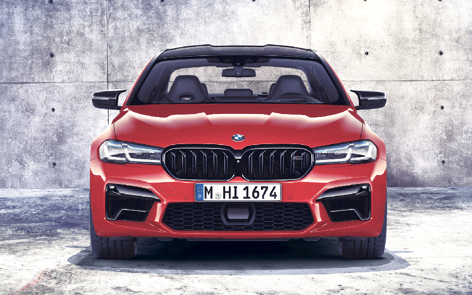 BMW M5 competition: Sai disparado à velocidade de uma bala