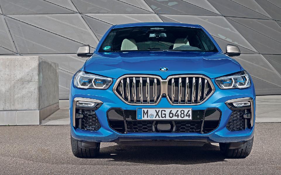 BMW X6 xDrive 30d: Um notável campeão  de pesados que aposta na luz