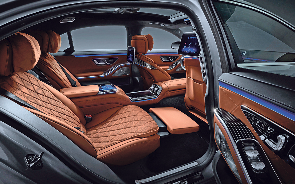 Mercedes  S400 4 Matic:  Luxo com tecnologia 3D e programas de massagens