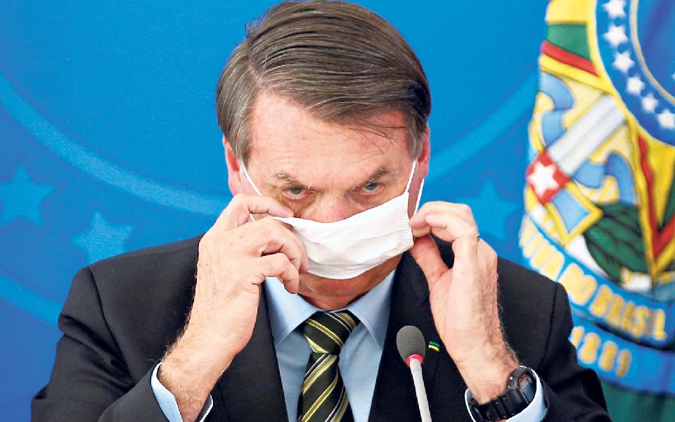 Não deverá ser  a covid a afastar Bolsonaro