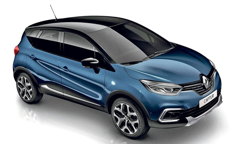 Renault Captur XMOD DCI 110. Como quer estacionar? Paralelo, perpendicular ou em espinha? Prima o botão