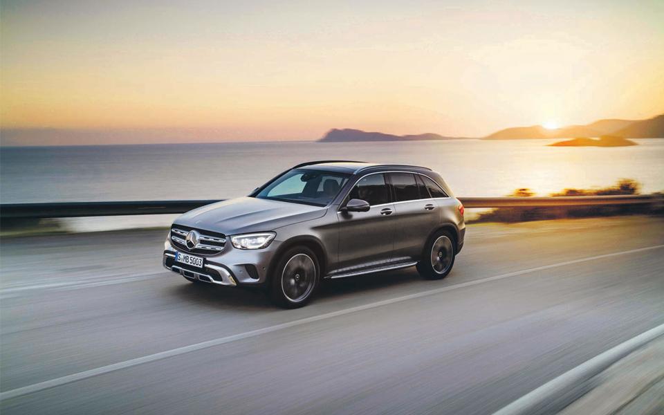Mercedes GLC:  Nova geração com mais design