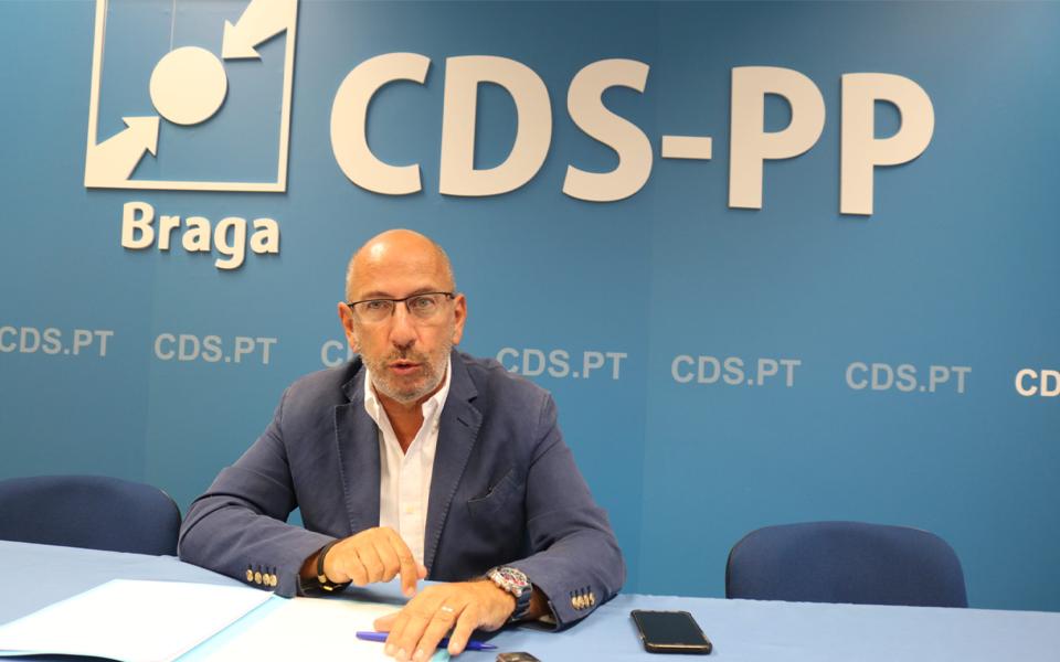 CDS: Telmo Correia poderá liderar lista de Melo