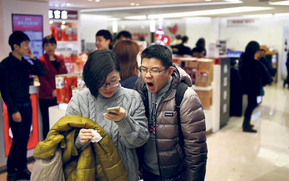 Chineses já pagam em yuan  e lojistas recebem em euros