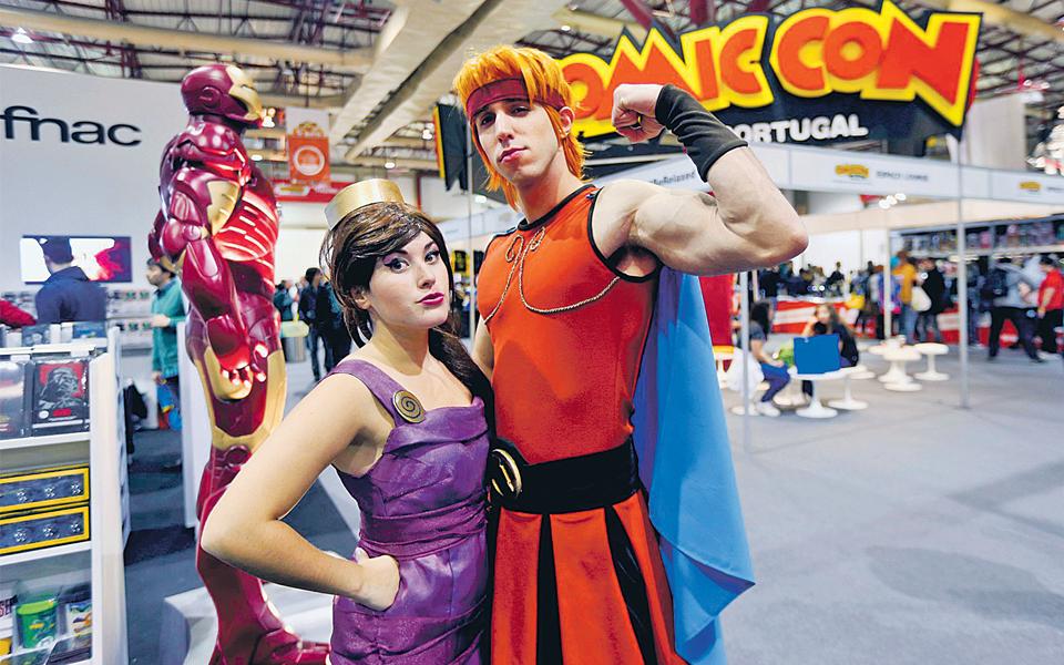 Comic Con Portugal - Personagens da cultura pop voltam a sair do papel