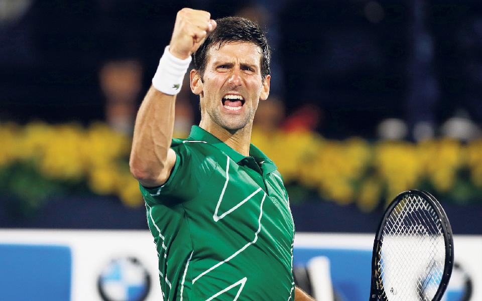 Novak Djokovic: Se 2020 fosse  um tenista seria sérvio e número um mundial