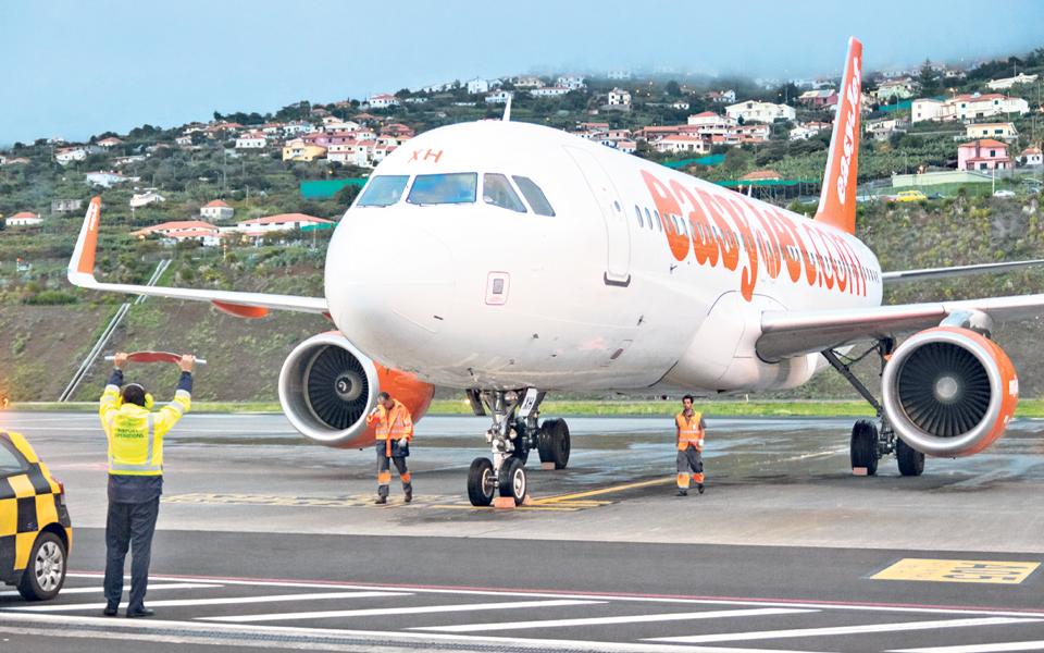 easyJet aumenta oferta entre Porto e Madeira em 20 mil lugares