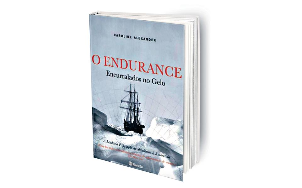 O Endurance. Encurralados no Gelo - Sobrevivência e liderança confundem-se