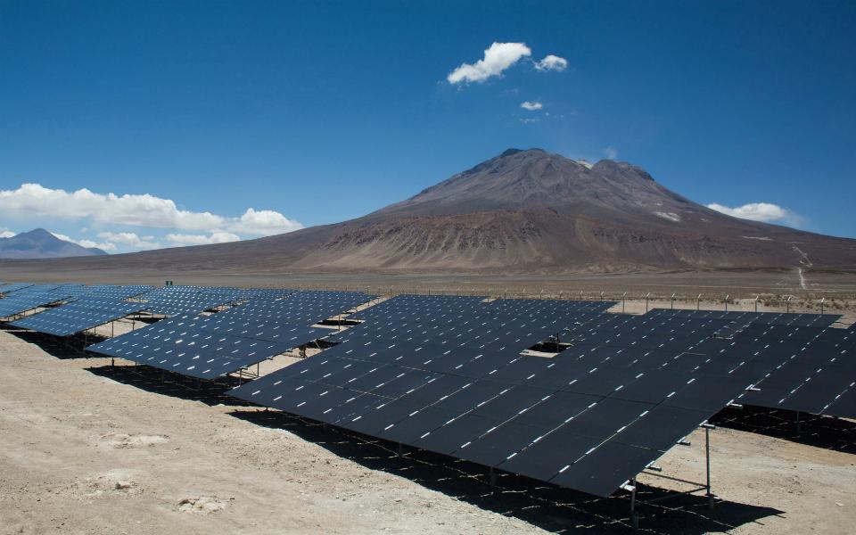Energia solar para poupar até 40%