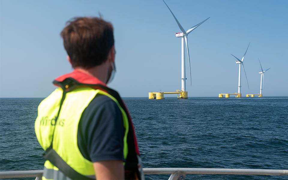 """Eólica offshore flutuante: tecnologia """"made in Portugal"""" de Viana do Castelo para o mundo"""