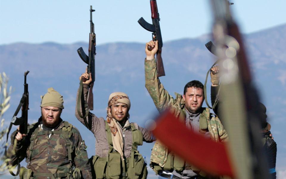Estado sírio corre perigo iminente de desintegração