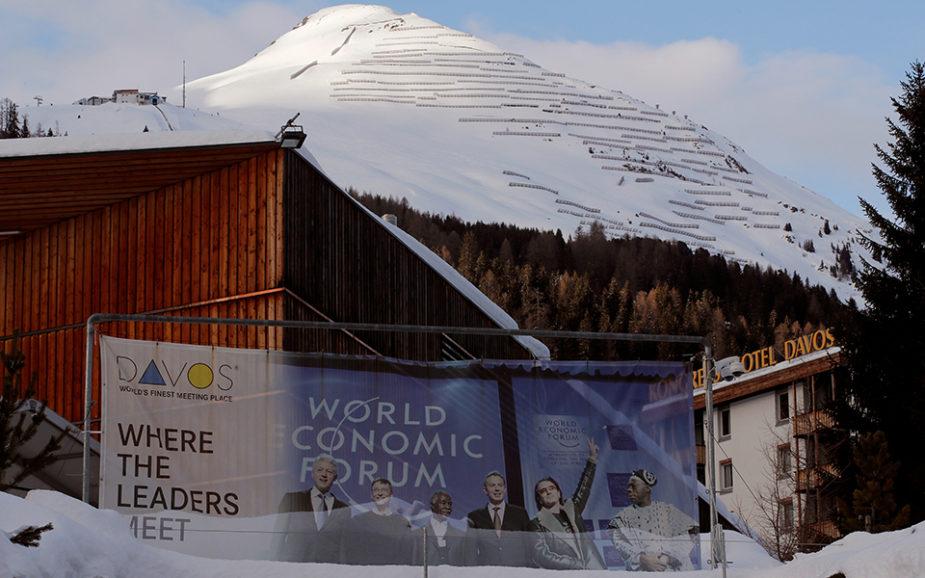 O dia a dia dos poderosos no Fórum Económico de Davos