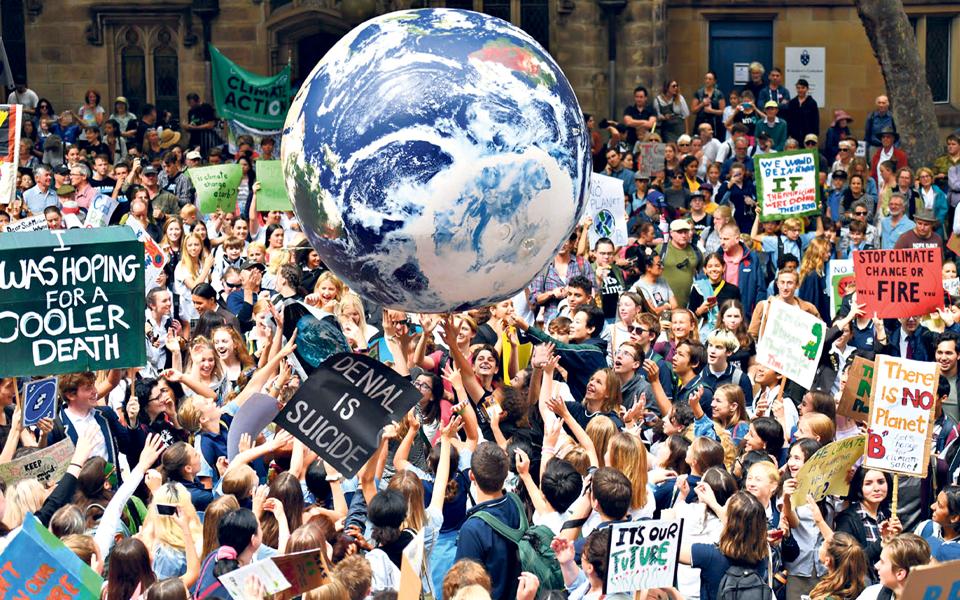 Fórum Económico Mundial:  Líderes globais discutem sustentabilidade  em Davos