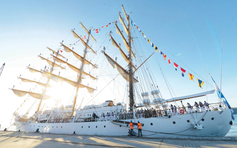 Fragata ARA Libertad - um símbolo da Marinha argentina