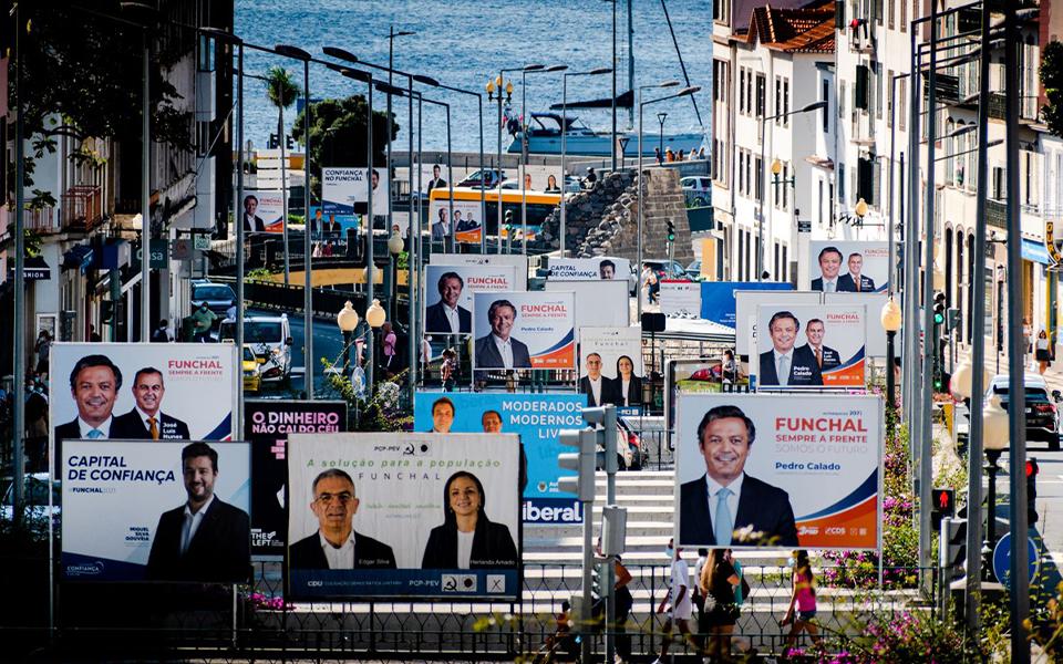 PS tem seis candidatas a presidências de câmara e PSD, CDS, JPP e IL nenhuma