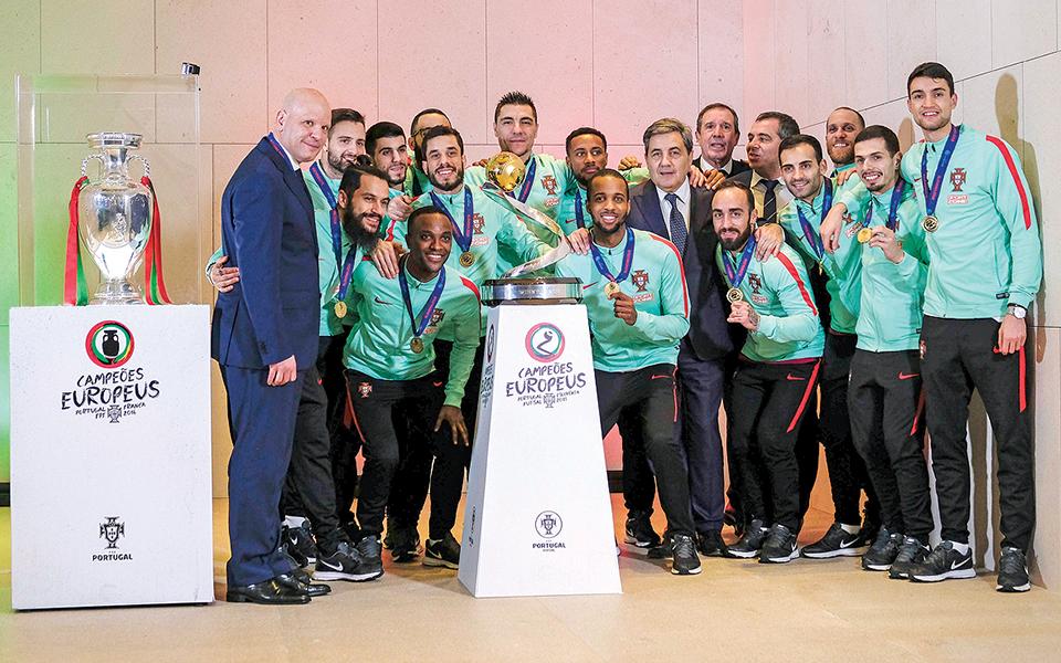 Futsal: da fusão ao título europeu em 20 anos de evolução
