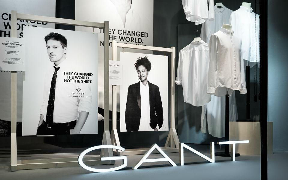 Gant reforça em Portugal e prepara abertura de 6 lojas