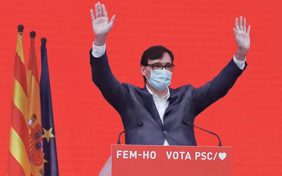 PSC não desiste  de apresentar governo  ao parlamento da Catalunha