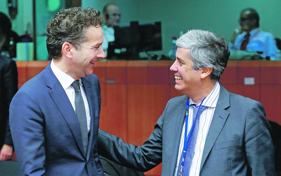 Governo ganha aliado improvável no Eurogrupo