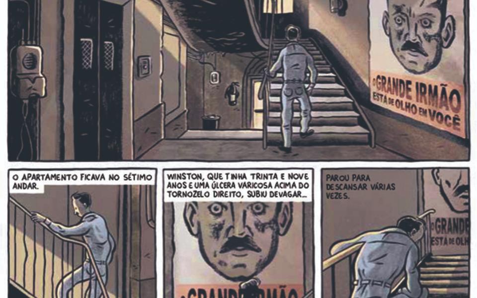 1984 - A novela gráfica: É hora de ver Orwell aos quadradinhos