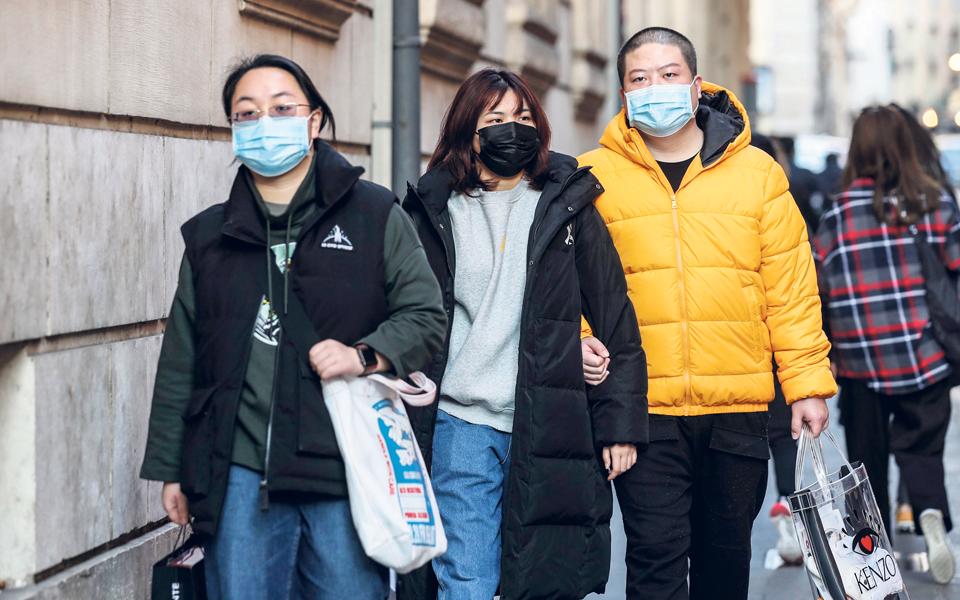 A gripe  chega às bolsas