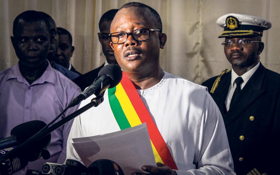 Guiné-Bissau tornou-se um país sob rigoroso regime de anarquia