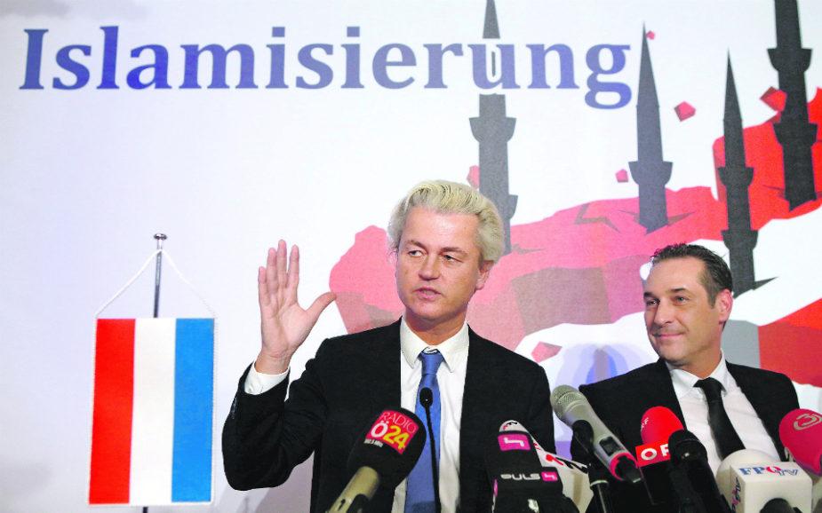 Geert Wilders Um 'holandês voador' nos céus da Europa