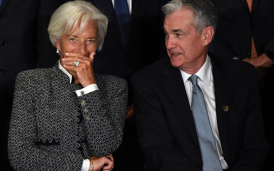 Lagarde e Powell permitem inflação pontual