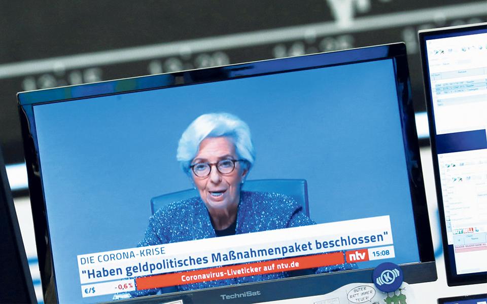BCE vigilante e pronto a recalibrar poder  de fogo contra a crise