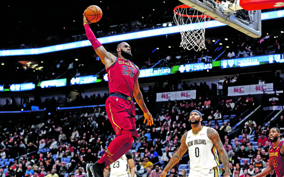 LeBron James nos LA Lakers revoluciona 'economia local'