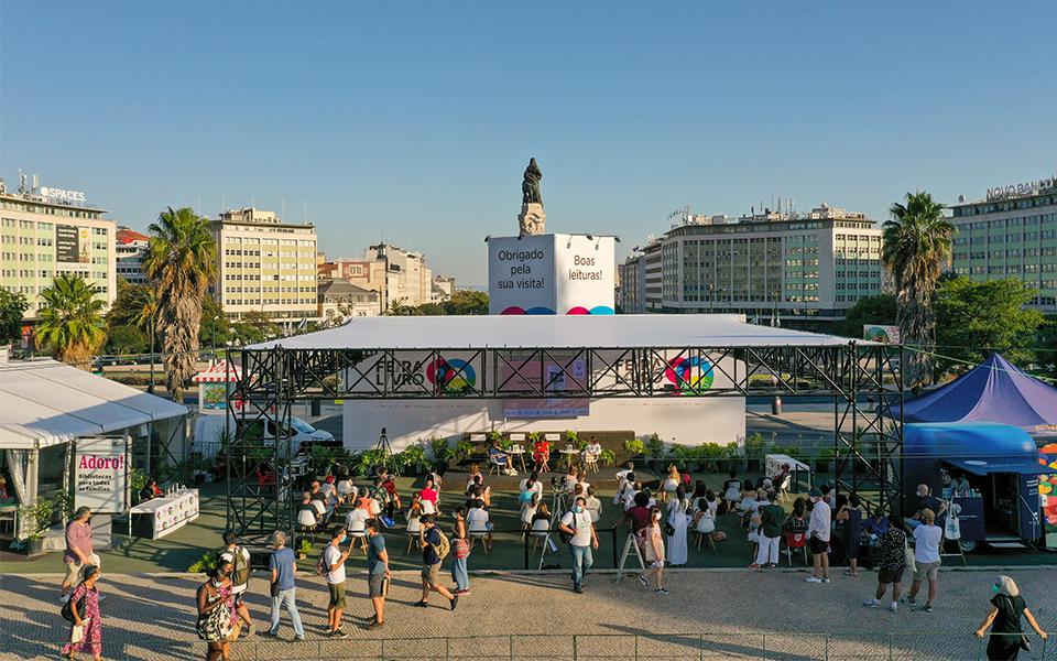 91.ª feira do livro de Lisboa:  Regresso com toda a segurança
