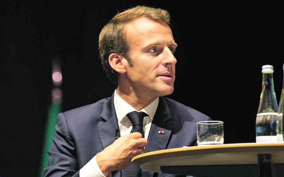 Macron nos EUA para assumir liderança da Europa