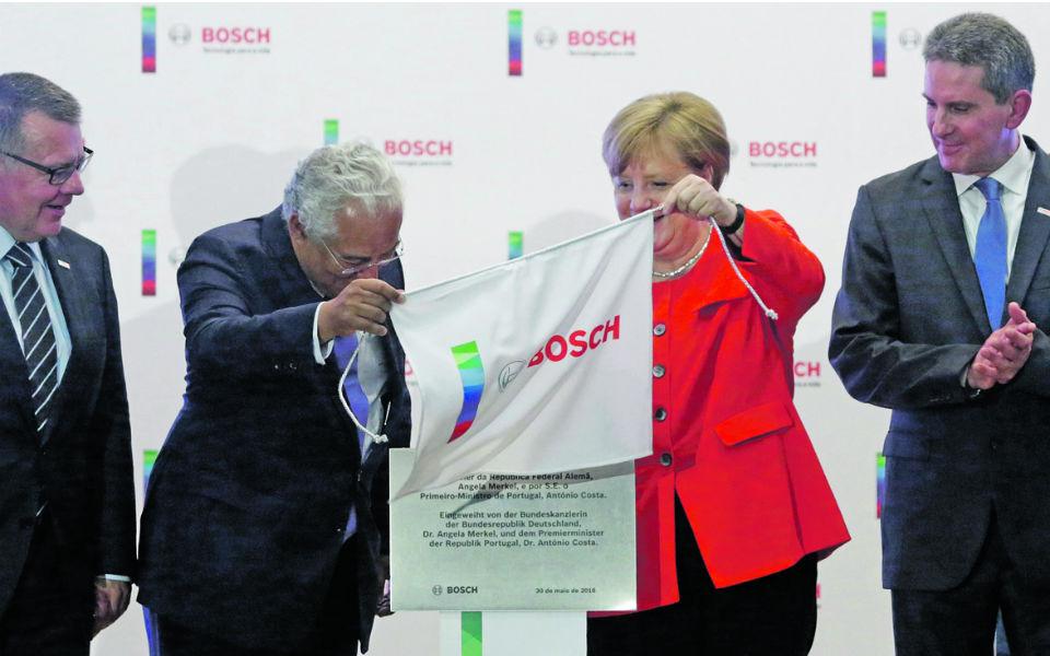 Bosch reforça investimento apadrinhada por Costa e Merkel