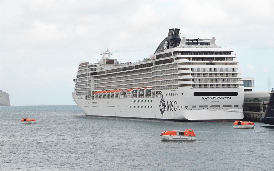 MSC Cruzeiros volta a ter embarques no porto do Funchal