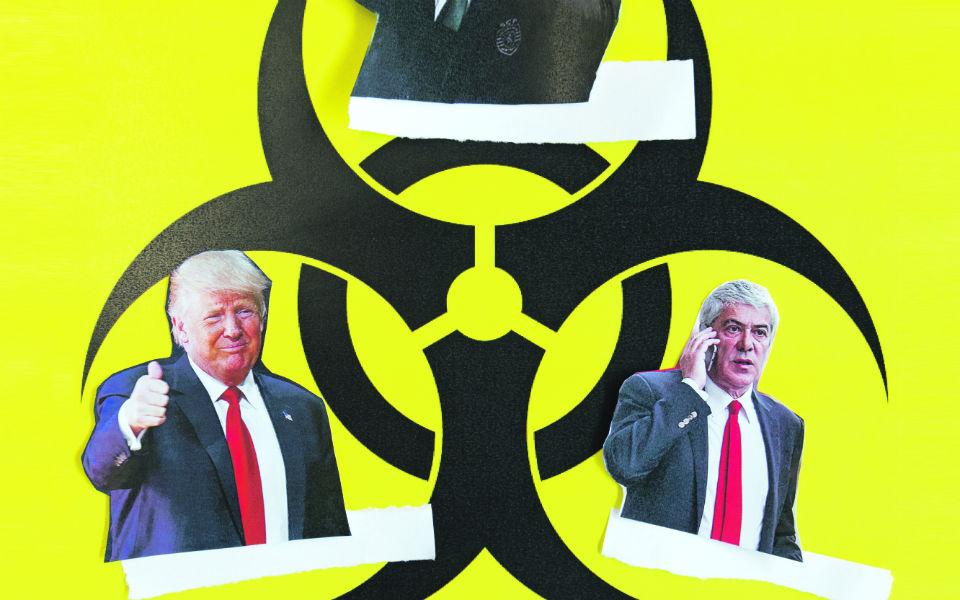 O fenómeno das lideranças tóxicas de personalidades disfuncionais