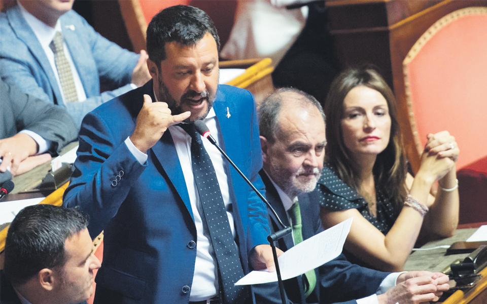 Salvini mais próximo do poder em Itália ameaça estabilidade da zona euro