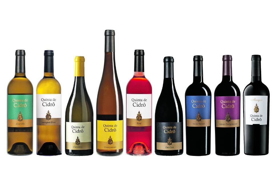 Real companhia velha - Quinta de Cidrô:  Nove estrelas com castas do Douro e forasteiras