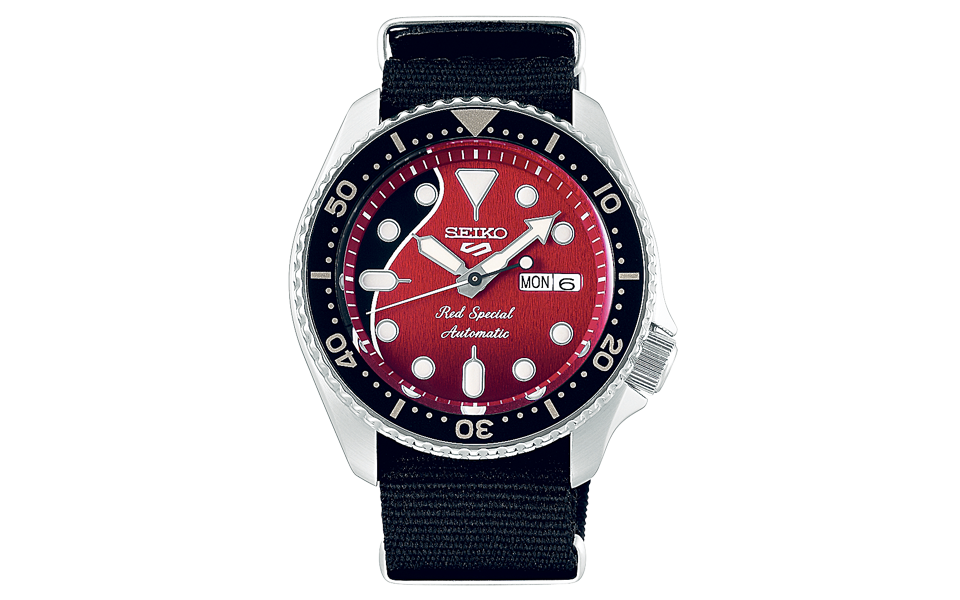 Seiko 5 Sports:  O tempo do rock