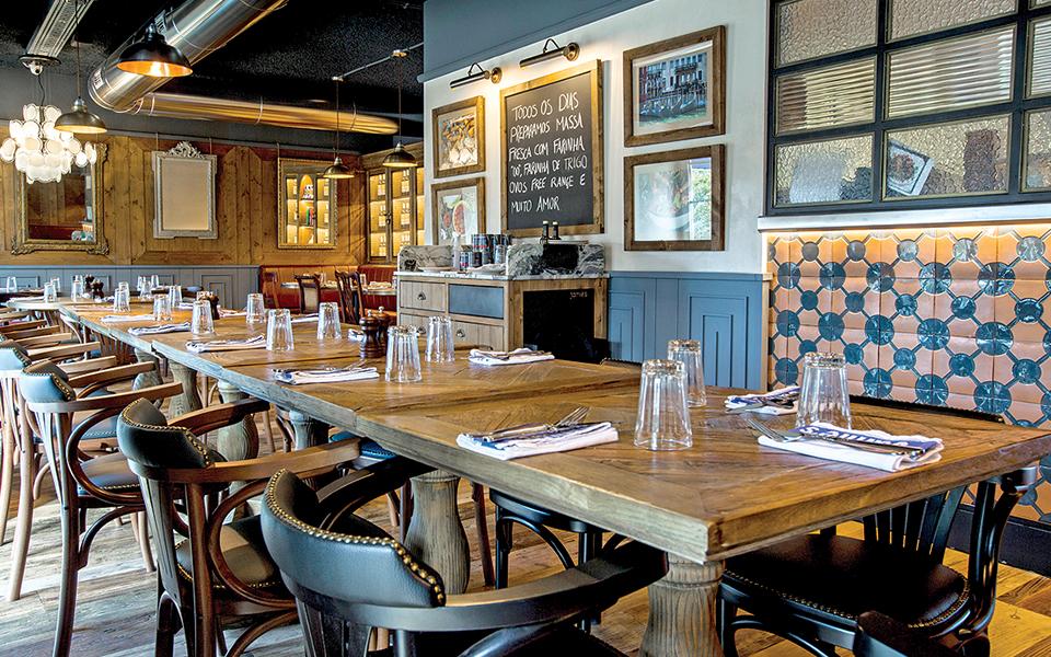 Jamie's Italian: O restaurante italiano do inglês Jamie Oliver em Lisboa