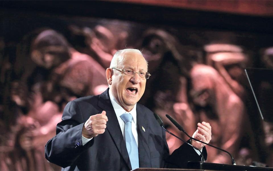 """Presidente de Israel pede aos partidos """"soluções criativas"""""""