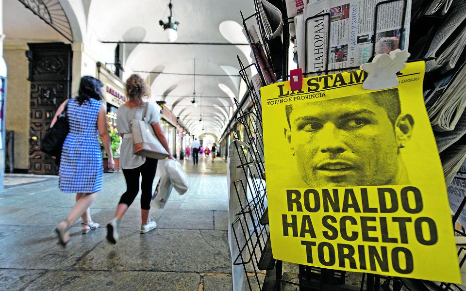 Ronaldo: o golpe do século e os milhões a caminho de Itália