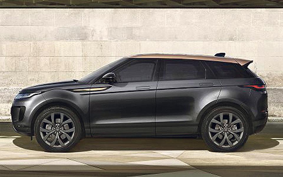 Range Rover Evoque:  O mais atraente