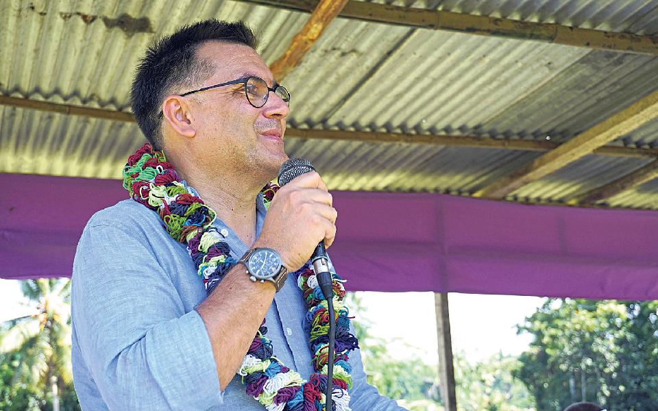 """""""O 'efeito CNN' não teve tração em Bougainville"""""""